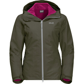 Jack Wolfskin Gotland 3In1 Jacket Women grape leaf